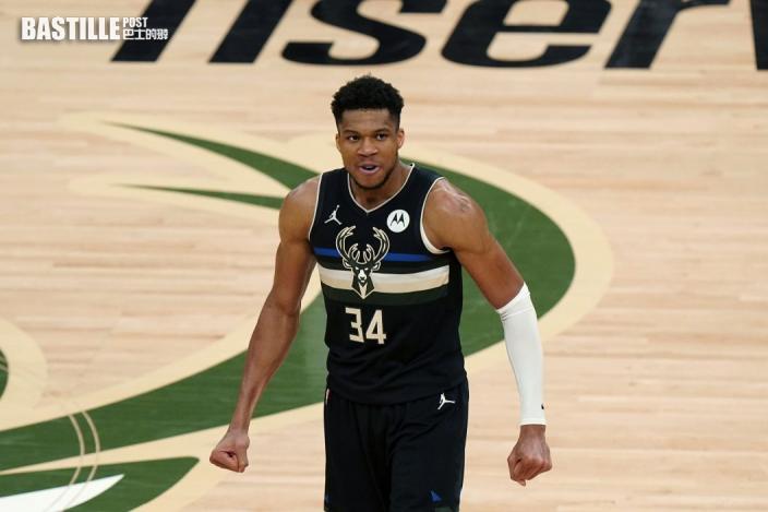 【NBA】字母哥狂轟五十分 領公鹿事隔五十年奪冠