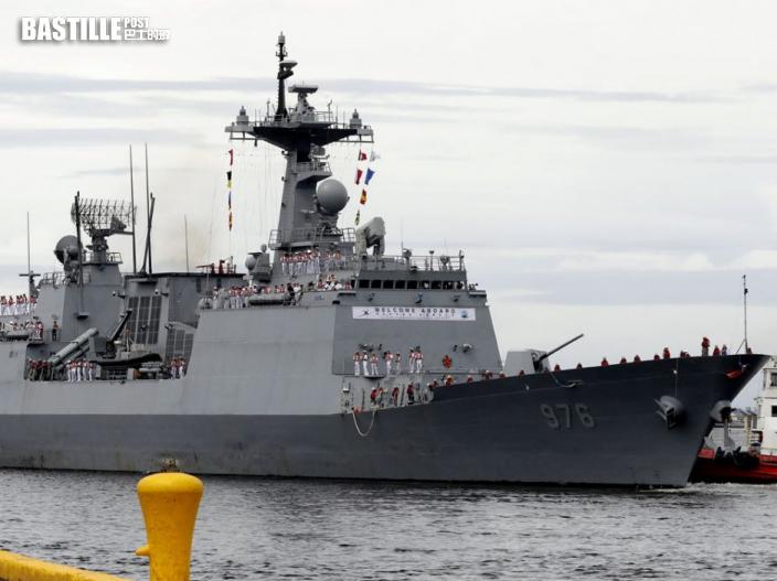 南韓 「文武大王」號驅逐艦增19宗確診 感染率升至88%