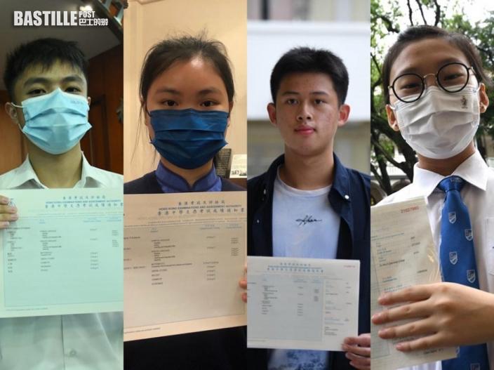 【DSE放榜】七名狀元中4人立志讀醫 1人負笈英國