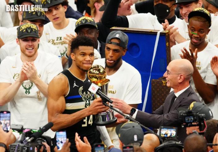 【NBA】字母哥終完成高比挑戰 答謝對方相信自己