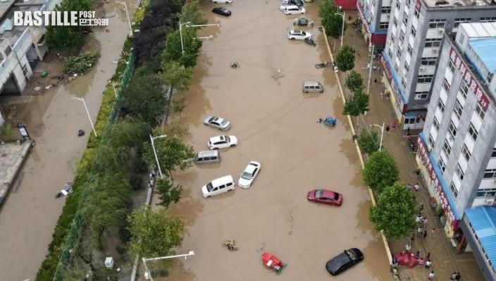 颱風「煙花」加劇河南暴雨 氣象台料再增強