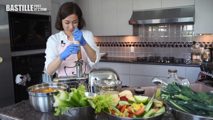 鍾嘉欣為家人要保持健康體魄:以前因為工作累積咗好多小毛病同炎症