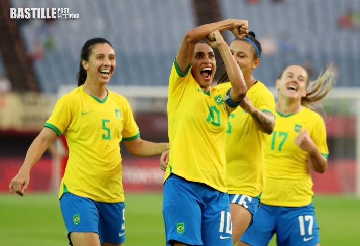 【東奧】女足率先開戰 巴西五蛋炒中國
