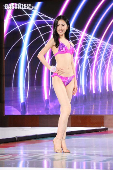 【港姐2021】王嫿嫿泳衣示人有信心 戴佳敏唔覺自己太瘦