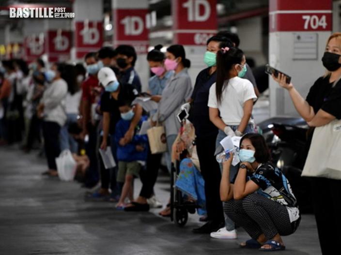 泰國新增13,002宗新冠確診 曼谷防疫措施再收緊