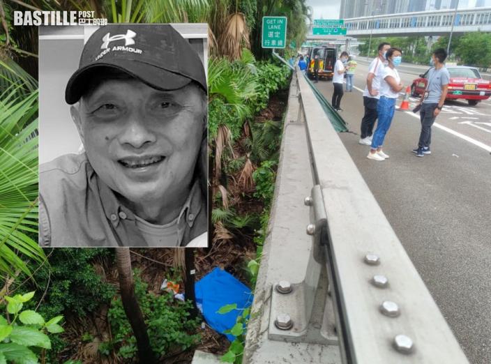 男子倒斃西九公路旁草叢 證實上周失蹤老翁