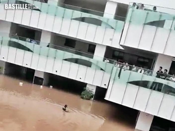 鄭州有醫院被水圍困缺乏食物 當局派員轉移重症病人