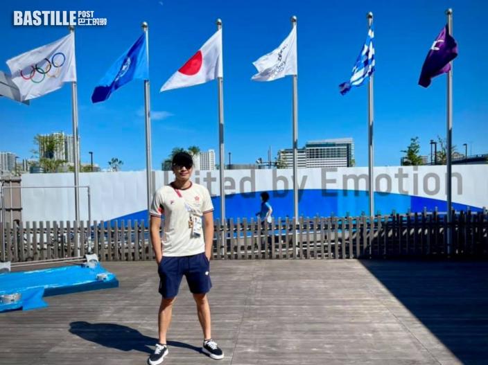 【東京奧運】大師兄初戰奧運 張小倫愈大賽愈快樂