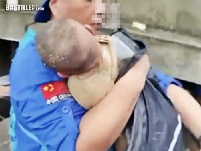 鄭州3個月大女嬰廢墟中獲救 母親生死未卜