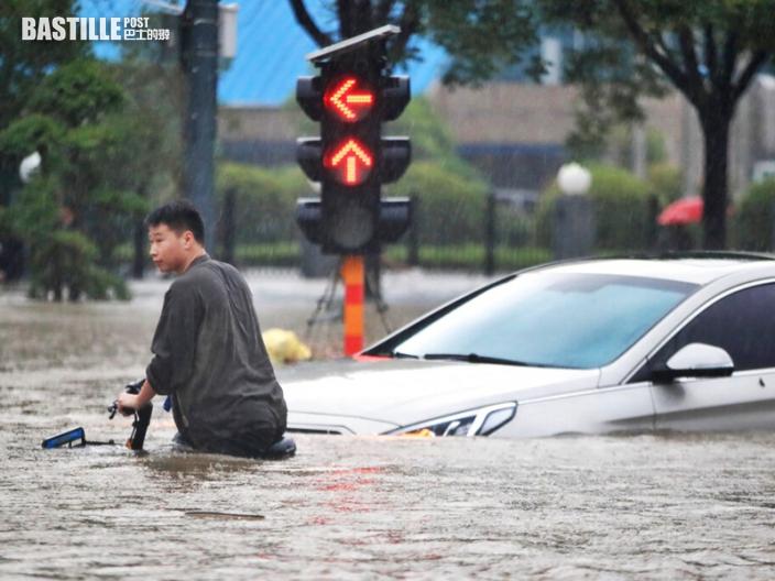 河南暴雨增至33死8人失蹤 直接經濟損失逾12億元