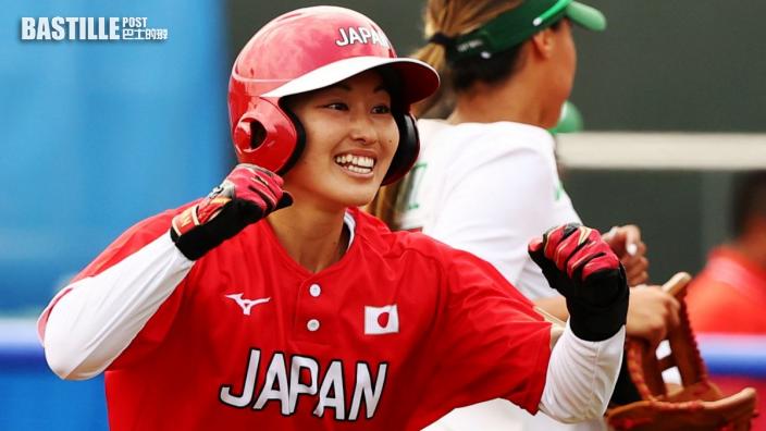 【東京奧運】日本壘球隊3:2險勝墨西哥 兩戰全勝排榜首