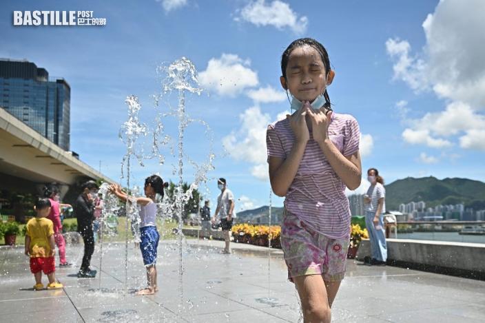 是日「大暑」 上水錄得34.9度全港最熱