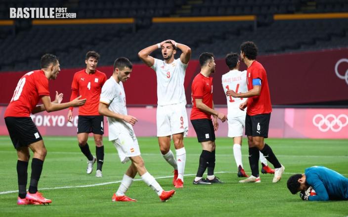 【東京奧運】西班牙男足C組首輪 0:0和埃及吃悶棍