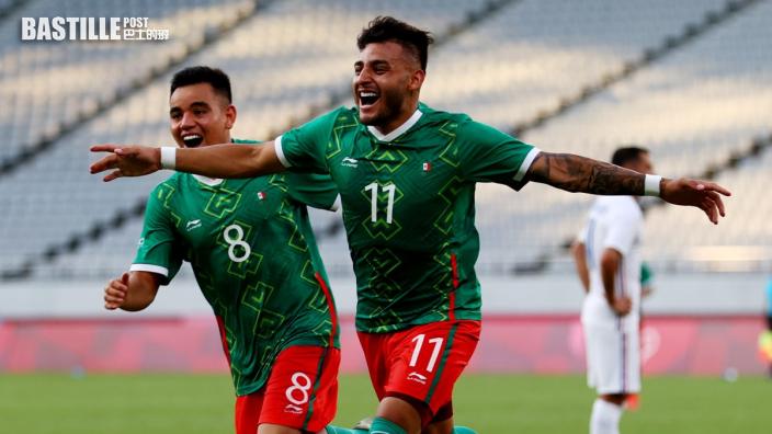 【東京奧運】墨西哥男足首仗爆冷以4:1挫法國
