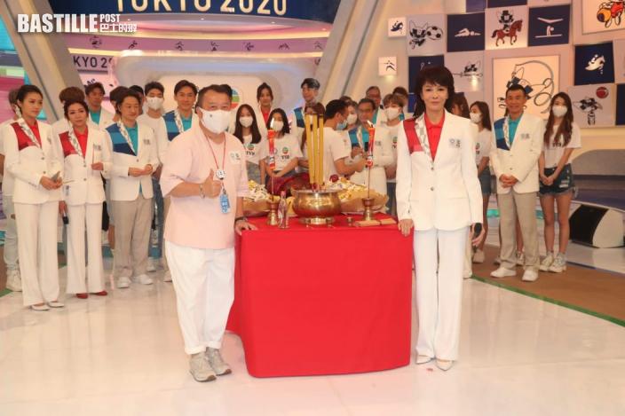 【東京奧運】坤哥借機向Chantel派心 鄭裕玲難忘08年親赴北京採訪