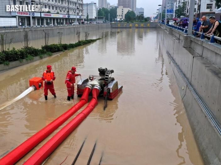 河南省千年一遇暴雨累計33死8失蹤 300萬人受災
