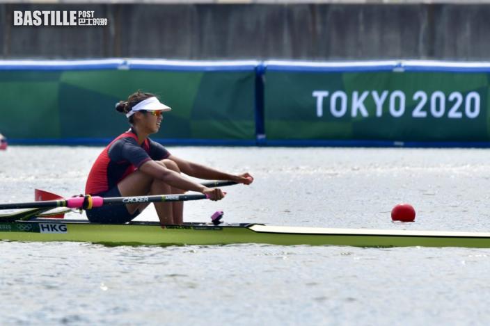 【東京奧運】奧運港將頭炮賽艇手洪詠甄出擊 小組第四轉戰復活賽