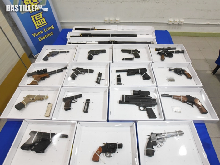 規管真槍元件修例 將於11月1日生效