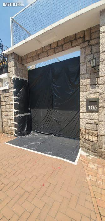 九龍塘國際學校遭淋紅油 警列刑毀調查