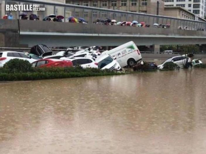 【鄭州暴雨】棄車車主回憶在京廣北路隧道逃生過程