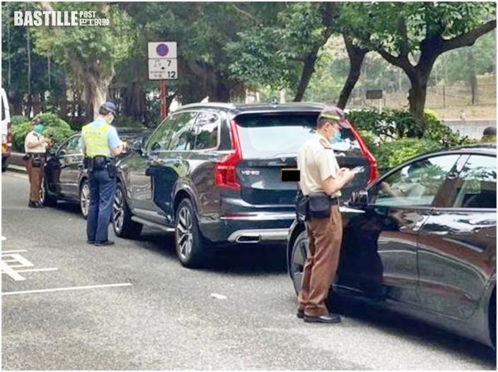 沙田警區交通行動日 3日發逾2000張告票拖走1車