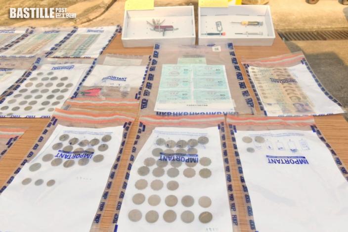 元朗破汽車盜竊集團拘6人 涉16案金額16萬