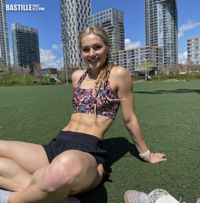 【東奧索女】加拿大Georgia Ellenwood愛晒腹肌  排戰七項全能