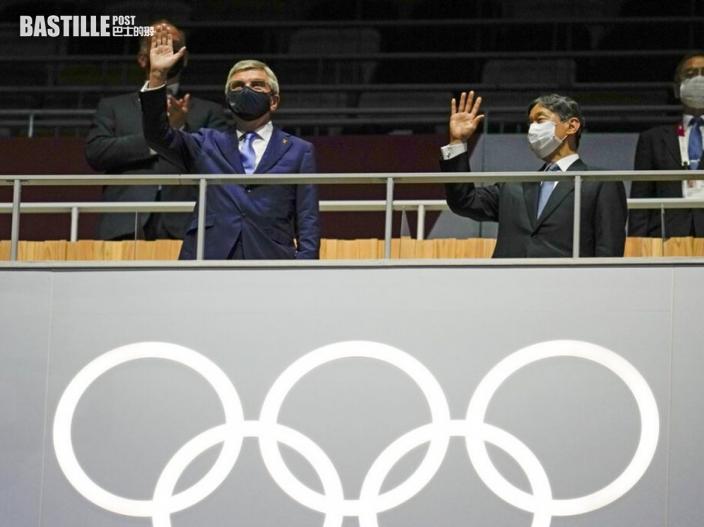 東京奧運揭幕禮 新國立競技場進行