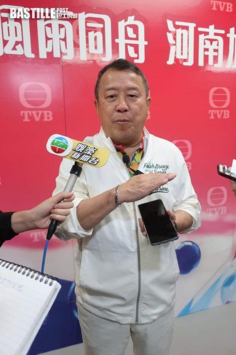 【河南水災】打氣比籌款更重要 曾志偉出動TVB全台藝人拍片交北京