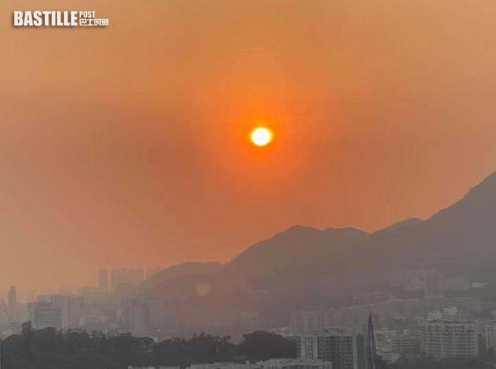 環保署料空氣污染下周驟雨前持續高水平