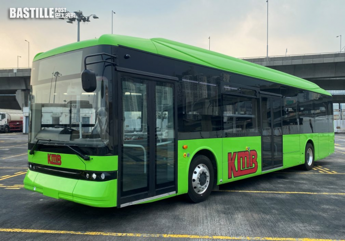 比亞迪首部純電動單層巴士抵港 今交付九巴
