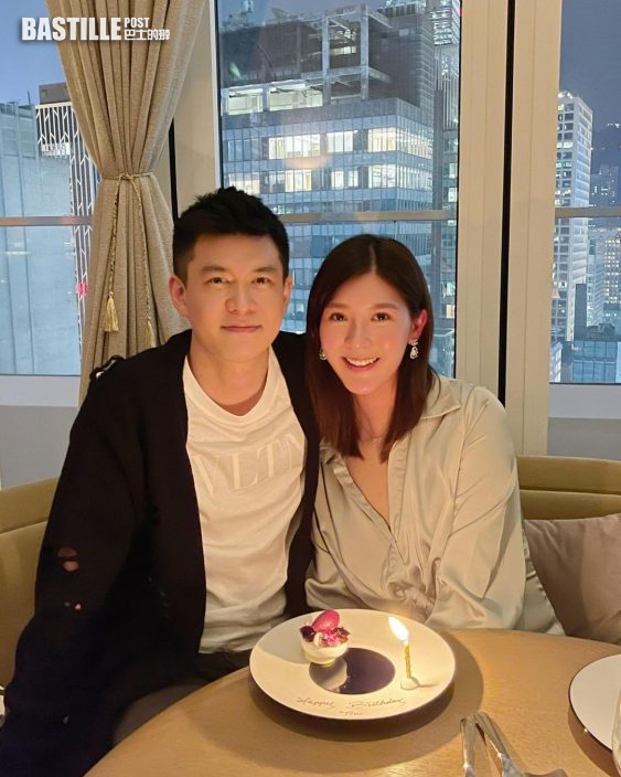 婚後首過生日冧爆祝賀 余香凝DIY為老公戴王冠