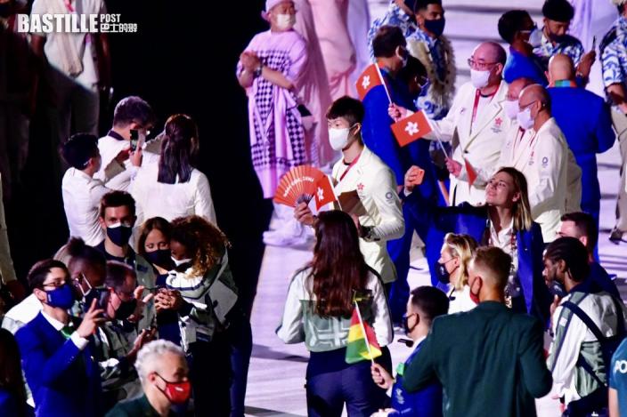 【東京奧運】東奧開幕禮 何詩蓓成外國選手「集郵」對象