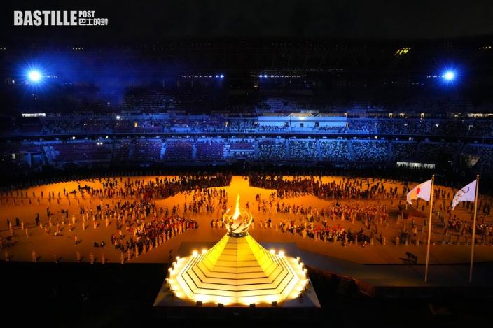【東京奧運】日皇德仁宣布開始 大阪直美燃點最後一棒火炬