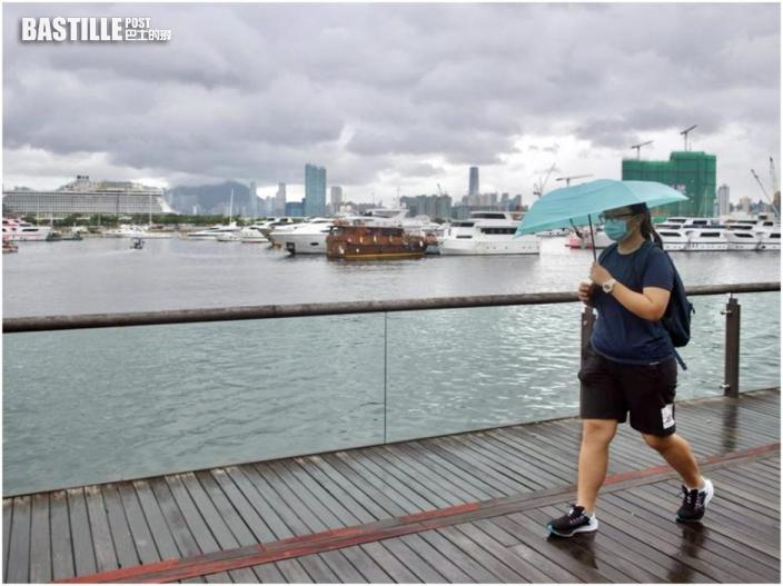 初時部分地區大雨 日間有短暫陽光最高33℃