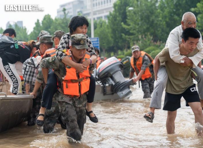 東亞中國援助河南災民 捐300萬人民幣