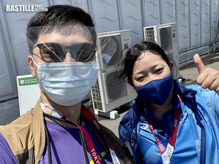 【東京奧運】記者口罩破損 日女義工拯救