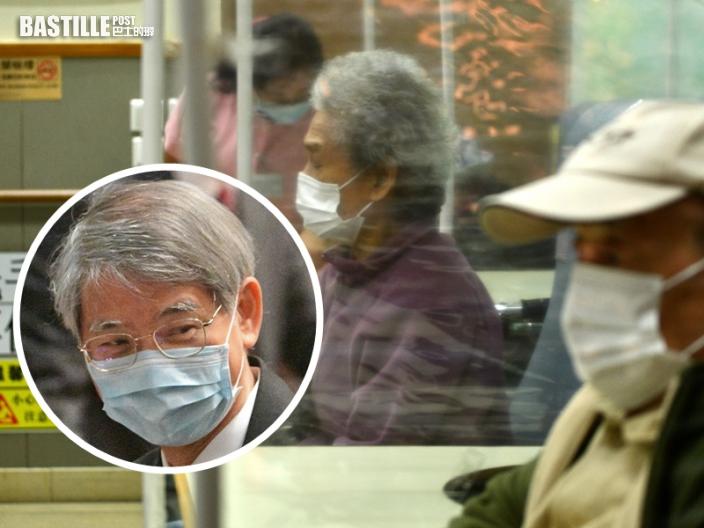 羅致光:已調整安老院舍長者接種新冠疫苗指引