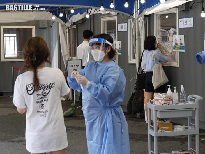 南韓增1629宗確診 連續18日維持四位數