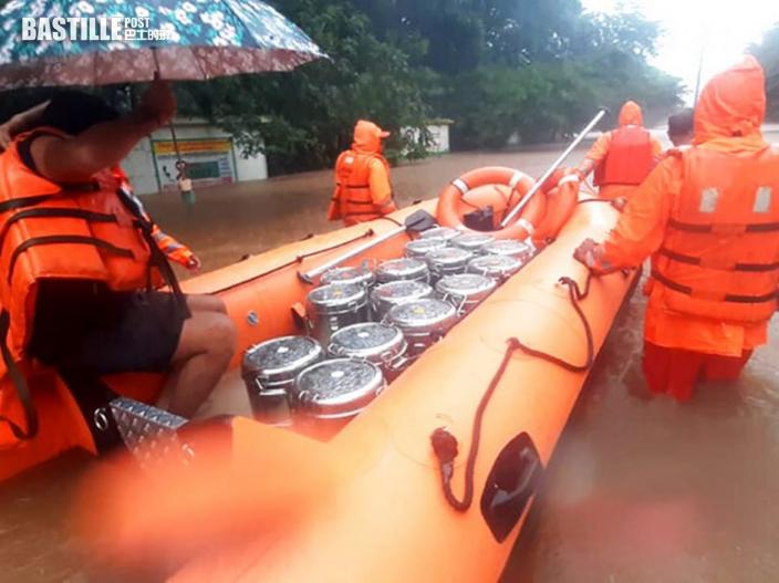 印度暴雨成災最少76死 59 失蹤