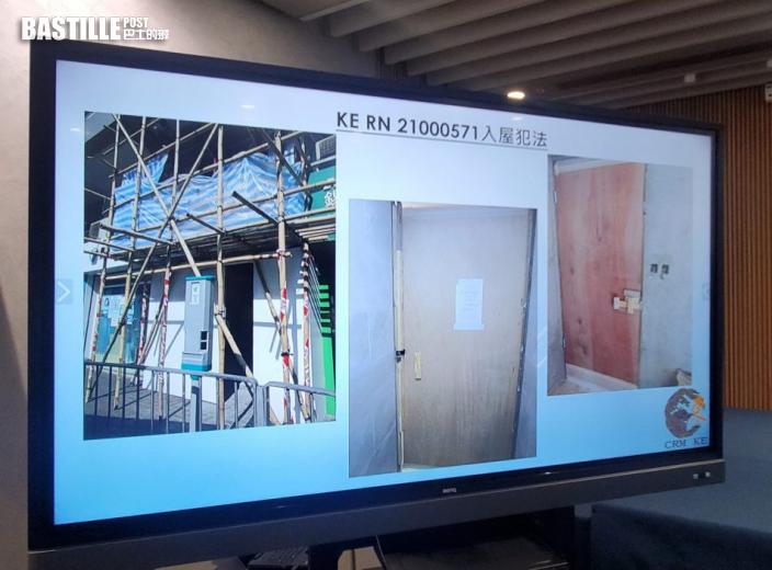 警拘兩人涉九龍區8宗地舖爆竊案 涉款10萬元