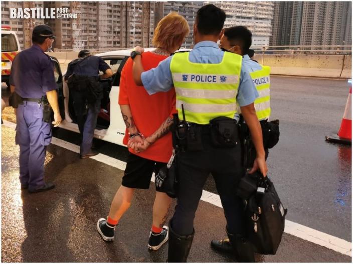 警新界南打擊藥駕酒駕 截查200車拘14男女