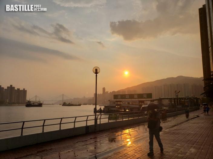 天文台:深圳強雷雨區漸向南移 短期內或影響香港