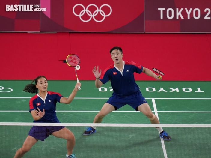 【東京奧運】港隊戰況一覽 羽毛球混雙鄧俊文謝影雪2:1擊敗馬來西亞