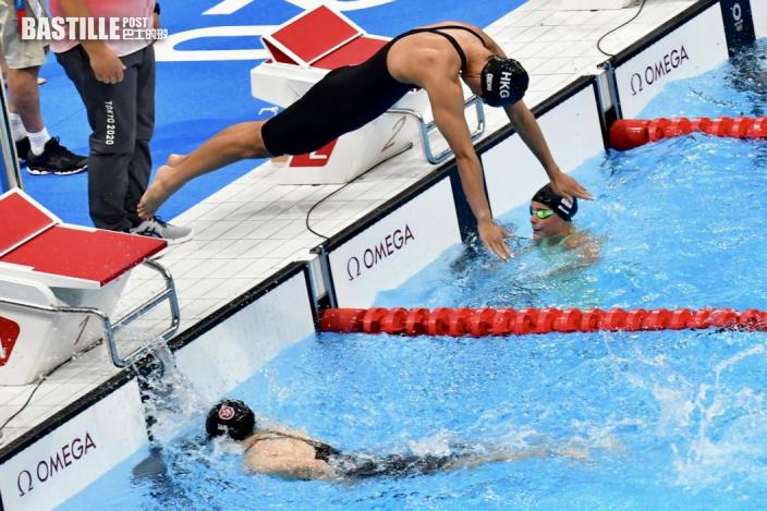 女子4x100米自由泳接力 歐鎧淳與3隊友無緣決賽