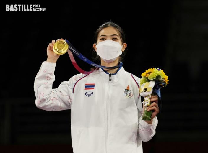 【東京奧運】跆拳翁巴達拿吉奪泰國首金