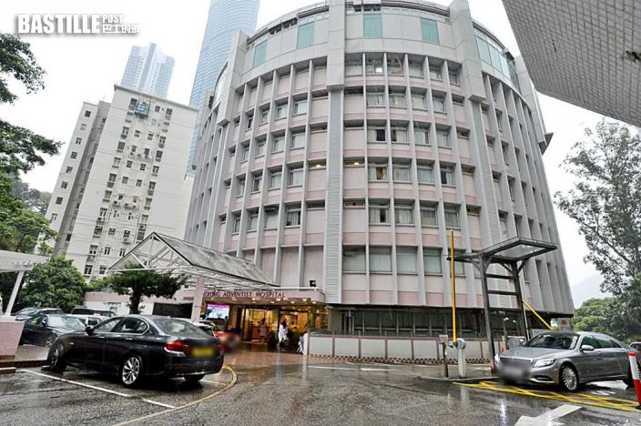 香港港安醫院正門帳篷及急診室納強檢