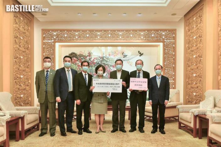 葉劉個人捐50萬 支援河南救災