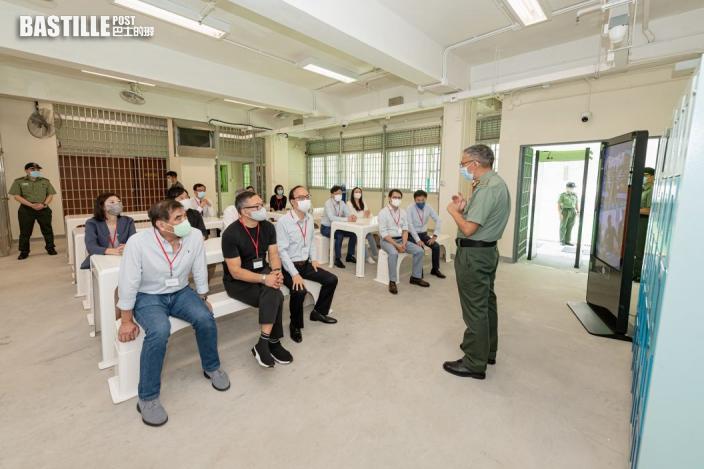 立會保安委員會視察大潭峽「智慧監獄」