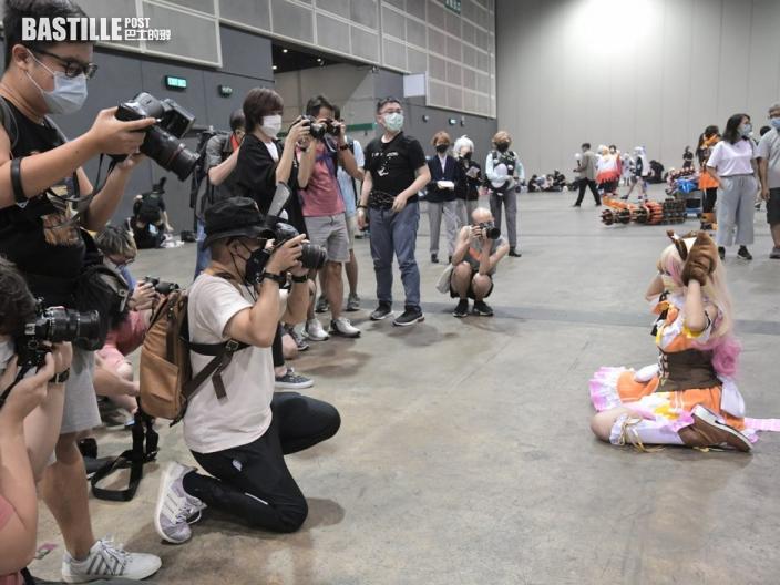 動漫節 Cosplay大賽舉行 1.5米距離無阻參與者熱情